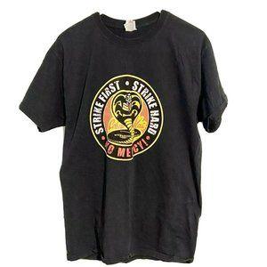 Cobra Kai Strike Hard No Mercy Karate Kid Shirt